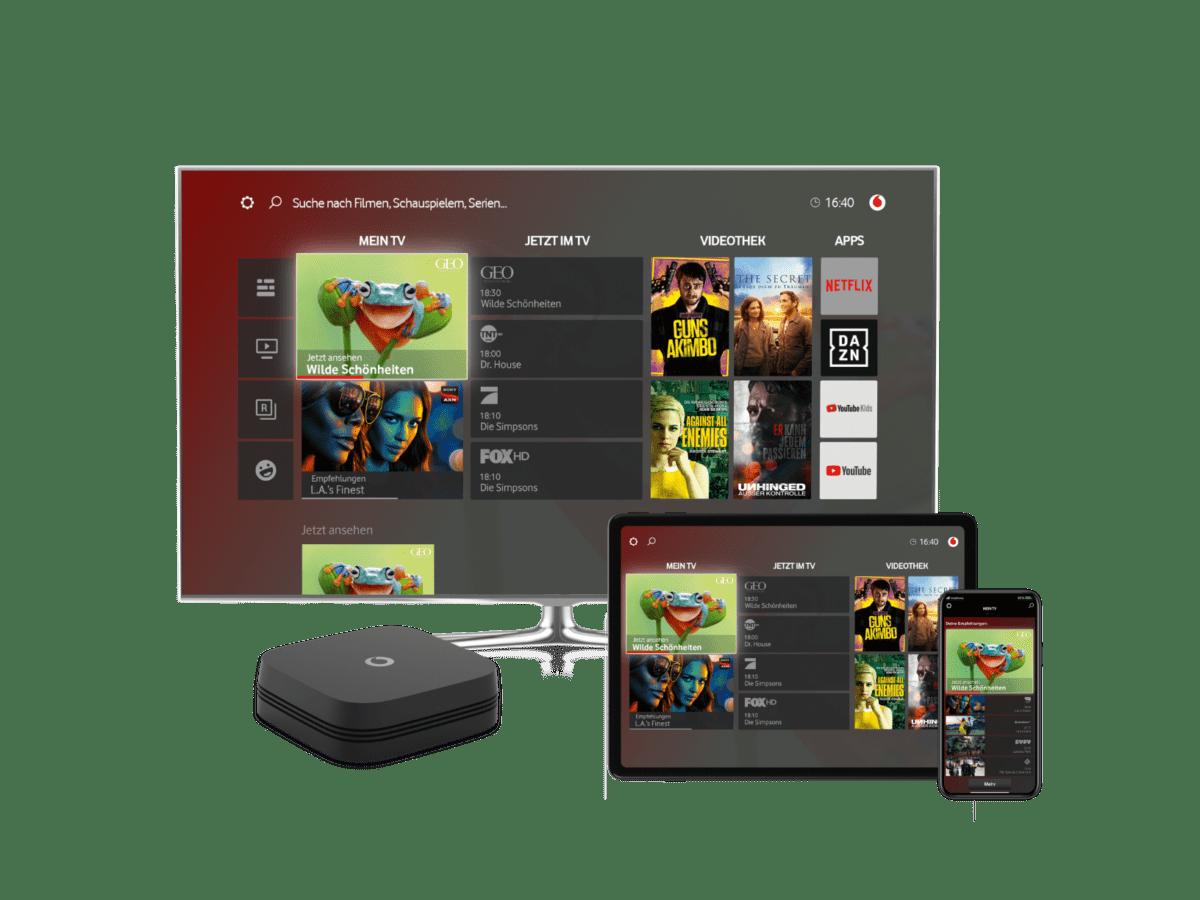 Vodafone Deutschland replaces Horizon with GigaTV